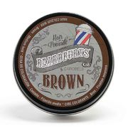 Beardburys Hair Colour Wax brun 100 ml