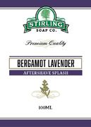 Stirling Bergamot Lavender aftershave splash 100 ml