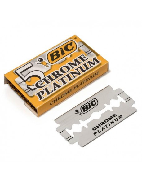 Bic Chrome Platinum rakblad 5st