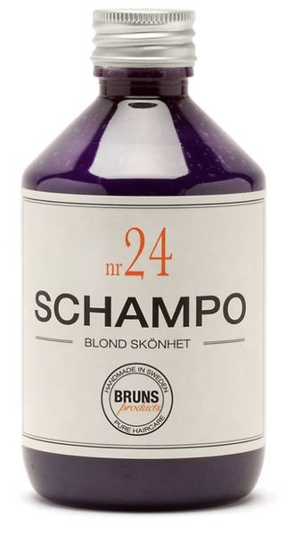 BRUNS Nr24 Blond Beauty Schampo 330 ml