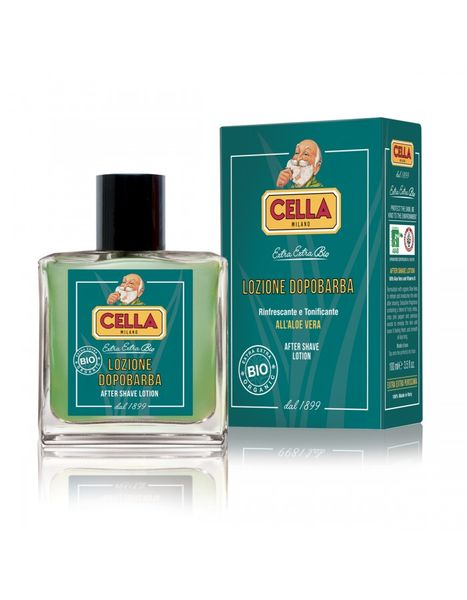 Cella Milano Bio Aloe Vera aftershave splash 100ml