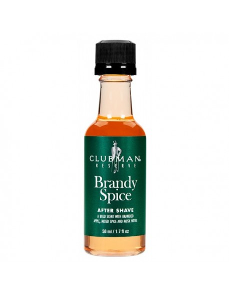 Clubman Pinaud Brandy Spice aftershave splash 50ml