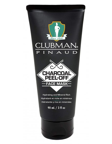 Clubman Pinaud Charcoal peel-off mask 90ml