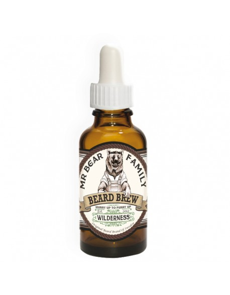 Mr Bear Family Wilderness skäggolja 30ml