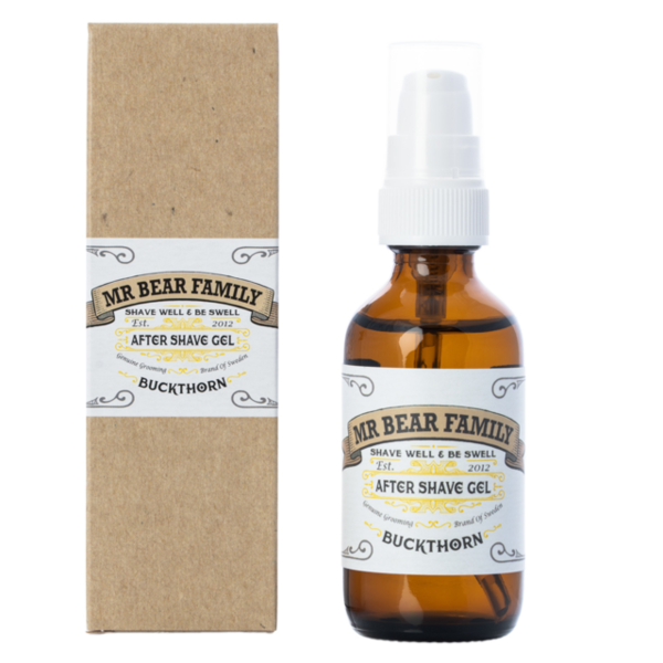 Mr Bear Family aftershavegel havtorn 60ml