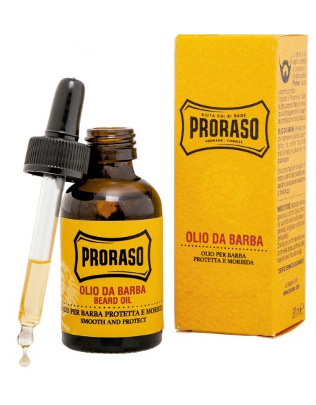 Proraso Wood and Spice skäggolja 30ml
