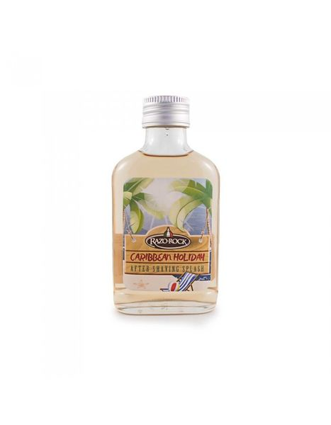 RazoRock Caribbean Holiday aftershave splash 100ml