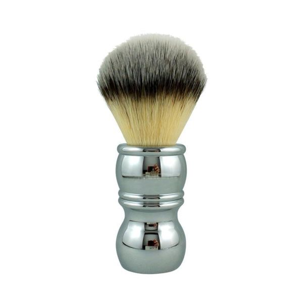 RazoRock Plissoft Chrome rakborste av syntethår 24mm
