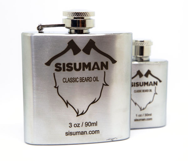 Sisuman skäggolja XL 90 ml