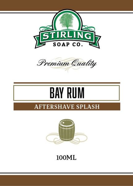 Stirling Bay Rum aftershave splash 100 ml