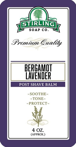 Stirling Bergamot Lavender aftershavebalsam 118 ml