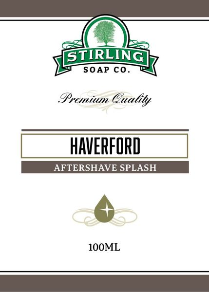 Stirling Haverford aftershave splash 100 ml