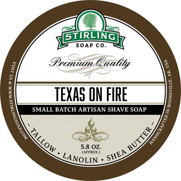 Stirling Texas on Fire raktvål 170 ml